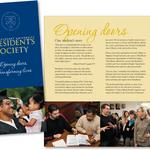 Brochure jumpstarting a targeted fundraising effort for scholarships. Client: Marylhurst University